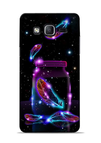 Glowing Bird Fur Samsung Galaxy On7 Mobile Back Cover