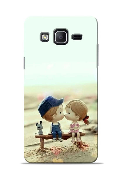 The First Kiss Samsung Galaxy On7 Mobile Back Cover