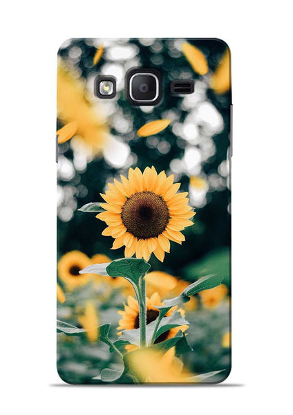 Sun Flower Samsung Galaxy On7 Mobile Back Cover