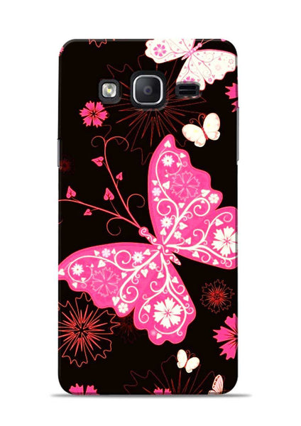 The Butterfly Samsung Galaxy On7 Mobile Back Cover