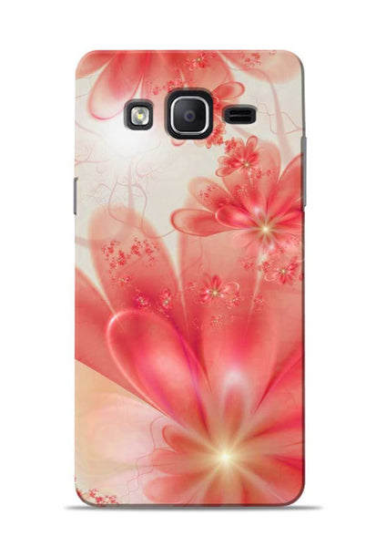 Glowing Flower Samsung Galaxy On7 Mobile Back Cover