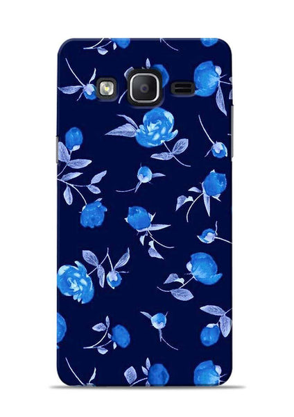 The Blue Flower Samsung Galaxy On7 Mobile Back Cover