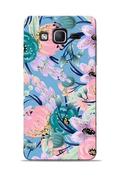 Lovely Flower Samsung Galaxy On7 Mobile Back Cover