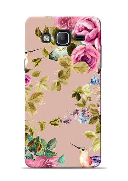 Red Rose Samsung Galaxy On7 Mobile Back Cover