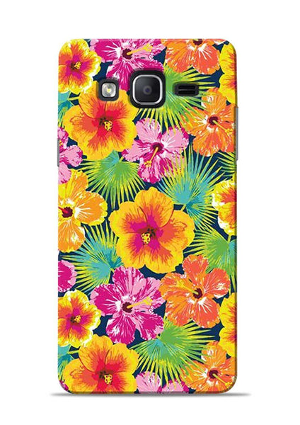 Garden Of Flowers Samsung Galaxy On7 Mobile Back Cover