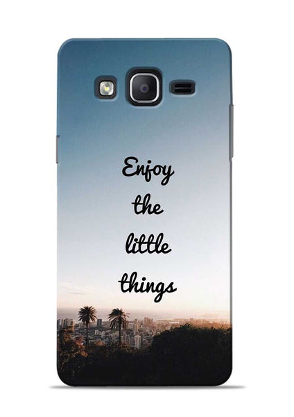 Enjoy The Little Things Samsung Galaxy On7 Mobile Back Cover