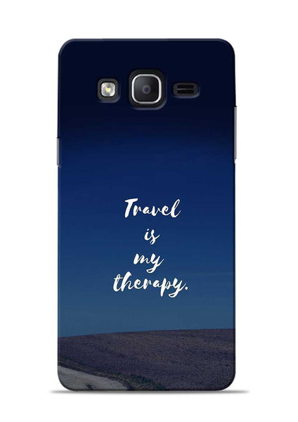 Travel Is My Therapy Samsung Galaxy On7 Mobile Back Cover