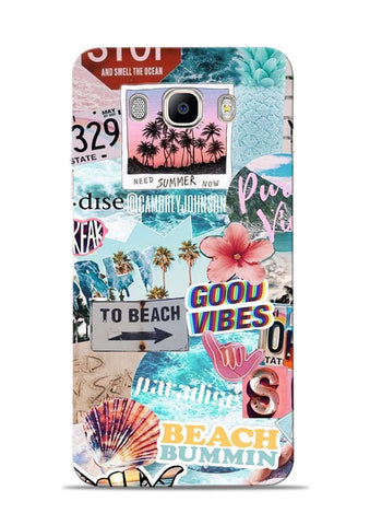 To Beach Samsung Galaxy On8 Mobile Back Cover