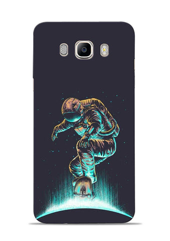 Astronaut Roller Skating Samsung Galaxy On8 Mobile Back Cover