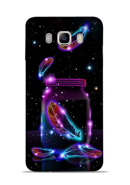Glowing Bird Fur Samsung Galaxy On8 Mobile Back Cover
