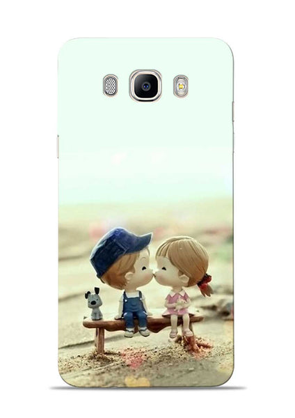 The First Kiss Samsung Galaxy On8 Mobile Back Cover