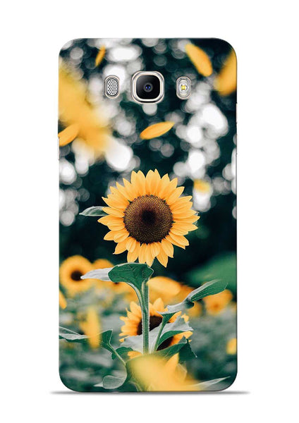 Sun Flower Samsung Galaxy On8 Mobile Back Cover