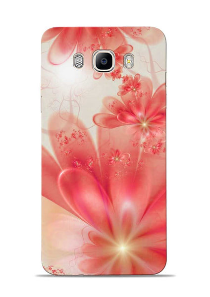 Glowing Flower Samsung Galaxy On8 Mobile Back Cover