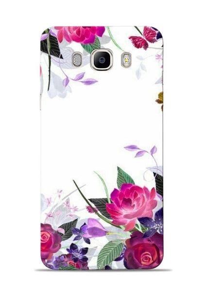 The Great White Flower Samsung Galaxy On8 Mobile Back Cover