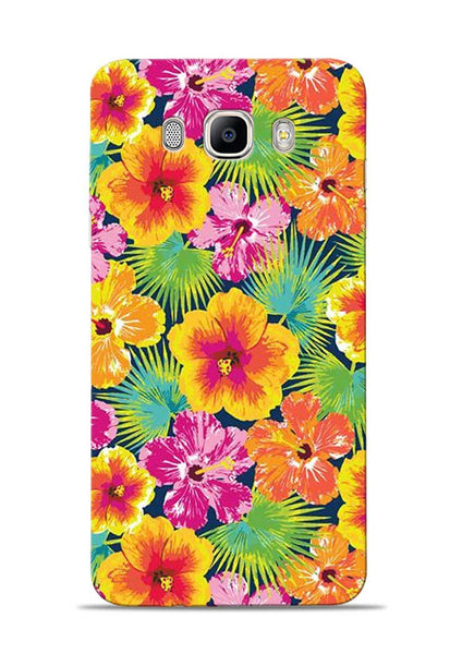 Garden Of Flowers Samsung Galaxy On8 Mobile Back Cover