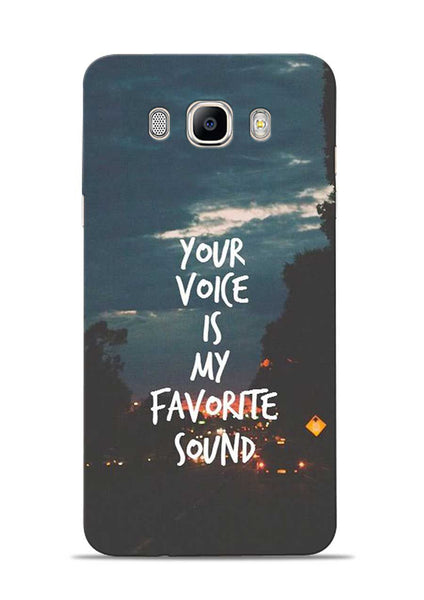 Your Voice Samsung Galaxy On8 Mobile Back Cover
