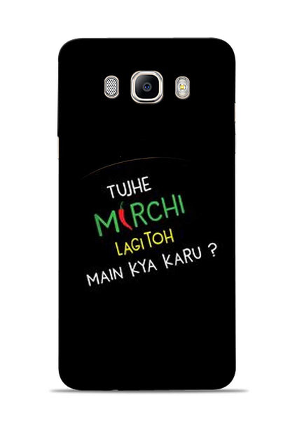 Mirchi Lagi To Samsung Galaxy On8 Mobile Back Cover