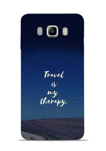Travel Is My Therapy Samsung Galaxy On8 Mobile Back Cover