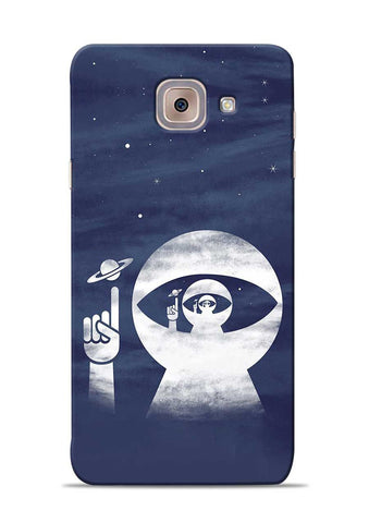 To Moon Samsung Galaxy On Max Mobile Back Cover