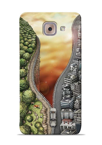 Forest City Samsung Galaxy On Max Mobile Back Cover