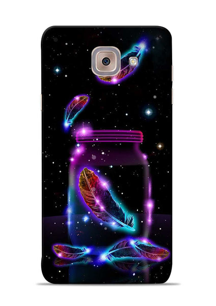 Glowing Bird Fur Samsung Galaxy On Max Mobile Back Cover