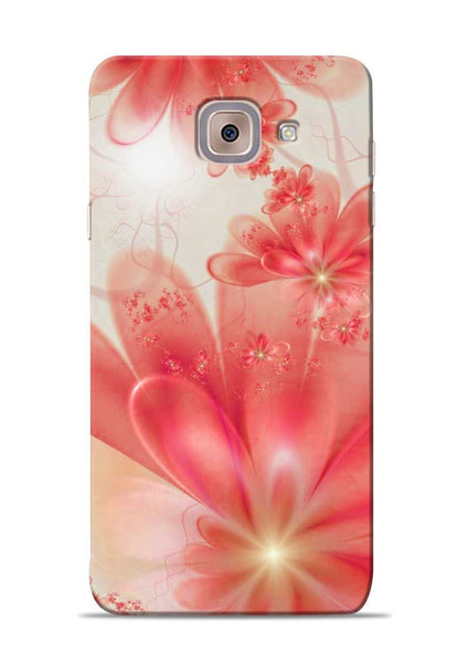 Glowing Flower Samsung Galaxy On Max Mobile Back Cover