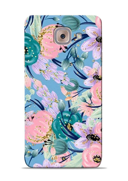 Lovely Flower Samsung Galaxy On Max Mobile Back Cover