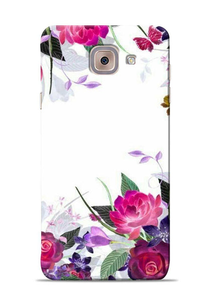 The Great White Flower Samsung Galaxy On Max Mobile Back Cover