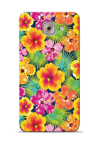 Garden Of Flowers Samsung Galaxy On Max Mobile Back Cover