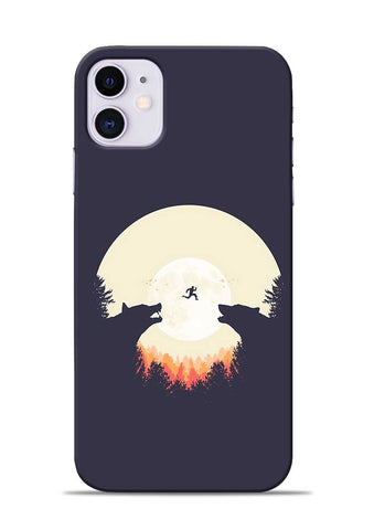 Wolf Bear iPhone 11 Mobile Back Cover