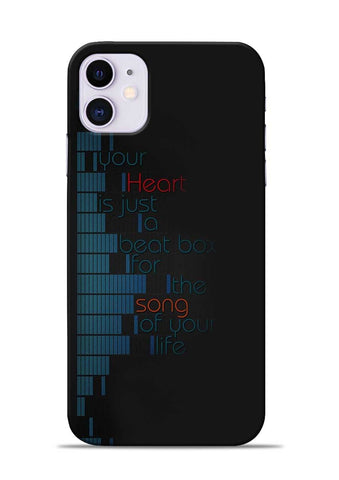Heart Song iPhone 11 Mobile Back Cover