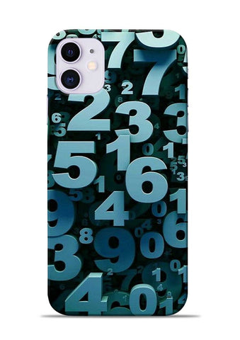 The Numbers iPhone 11 Mobile Back Cover