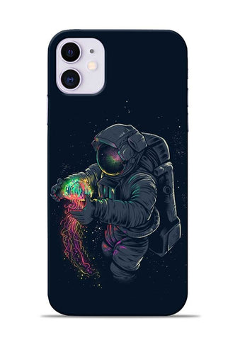 Astronaut Landed iPhone 11 Mobile Back Cover