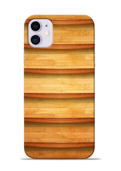 Wooden Texture iPhone 11 Mobile Back Cover