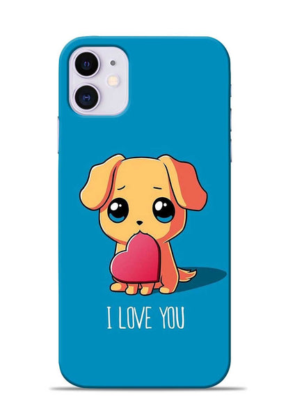 The Love iPhone 11 Mobile Back Cover