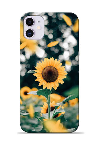 Sun Flower iPhone 11 Mobile Back Cover