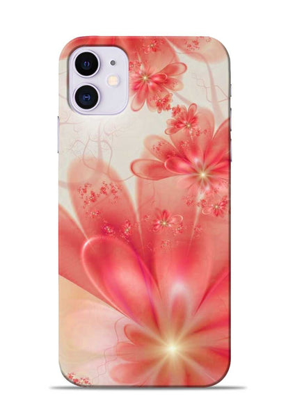 Glowing Flower iPhone 11 Mobile Back Cover