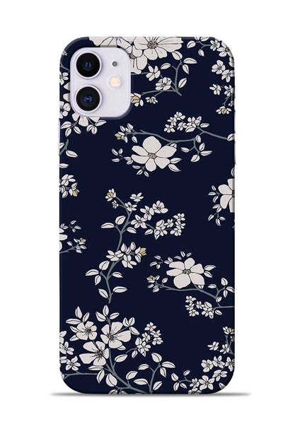 The Grey Flower iPhone 11 Mobile Back Cover
