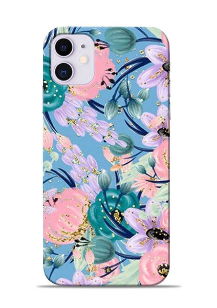 Lovely Flower iPhone 11 Mobile Back Cover