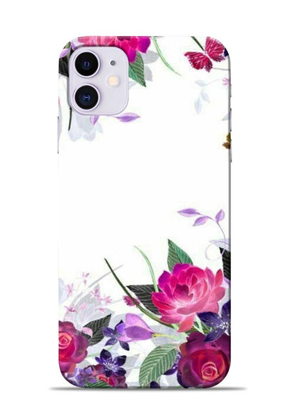 The Great White Flower iPhone 11 Mobile Back Cover