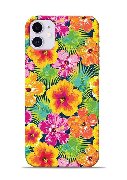 Garden Of Flowers iPhone 11 Mobile Back Cover