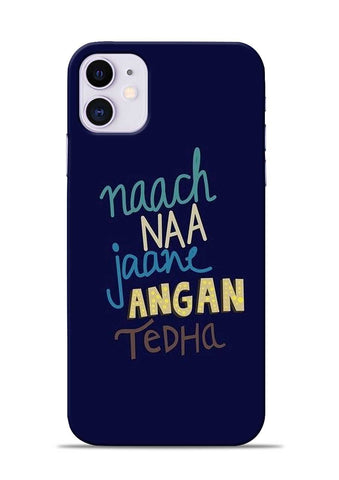 Angan Tedha iPhone 11 Mobile Back Cover