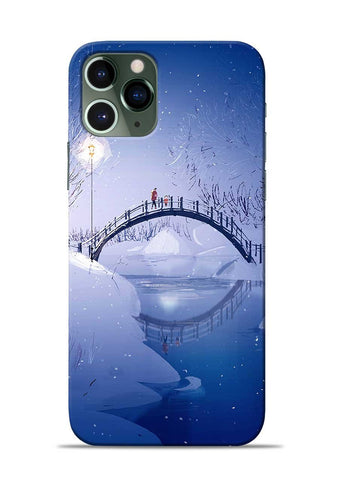 Night Bridge iPhone 11 Pro Mobile Back Cover