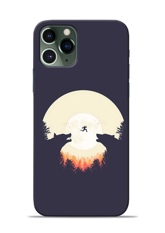 Wolf Bear iPhone 11 Pro Mobile Back Cover
