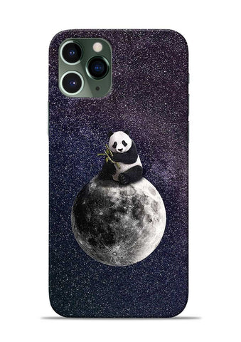 Panda On moon iPhone 11 Pro Mobile Back Cover