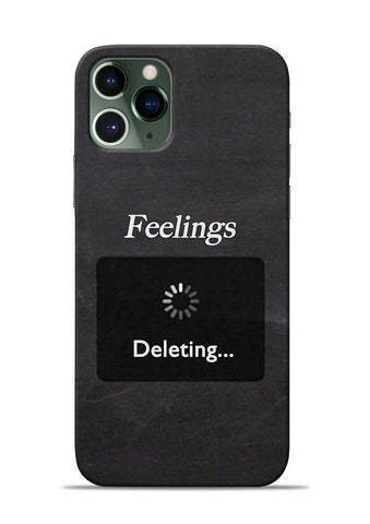 Deleting Feelings iPhone 11 Pro Mobile Back Cover