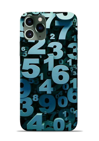 The Numbers iPhone 11 Pro Mobile Back Cover