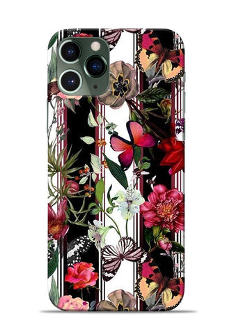 Butterfly Flower iPhone 11 Pro Mobile Back Cover