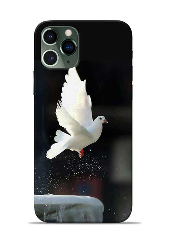 The White Bird iPhone 11 Pro Mobile Back Cover