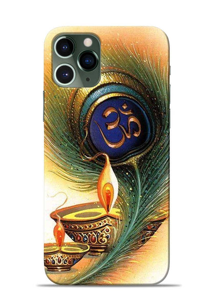 The Glowing Diya iPhone 11 Pro Mobile Back Cover